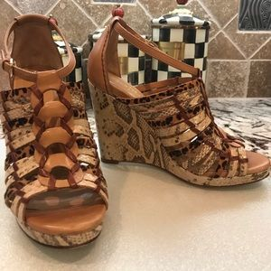 Cole Haan Air Minka Wedge Sandals